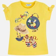 Mayoral dievčenské tričko 3009-044 yellow, mayoral,92 / 104 / 122 / 134