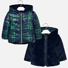 e44c3d7cbdda Mayoral obojstranný zimný kabát 4435-011 navy