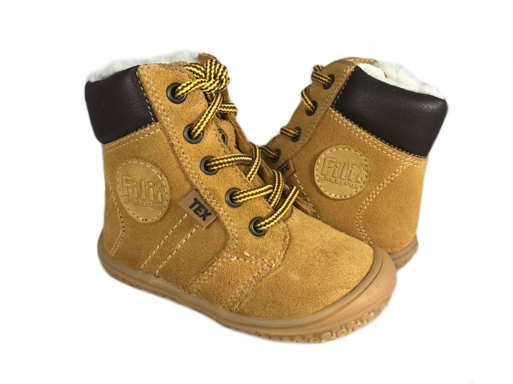 ad06a7c23 Detské kožené topánky, filii,22 / 23 - 74,95 € od predávajúcej  barefootnozka | Detský bazár | ModryKonik.sk