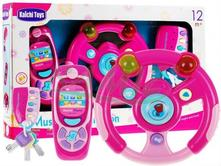 Detský volant+kluče+mobil,