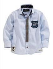 Prúžkovaná košeľa s klubovým znakom, next,80