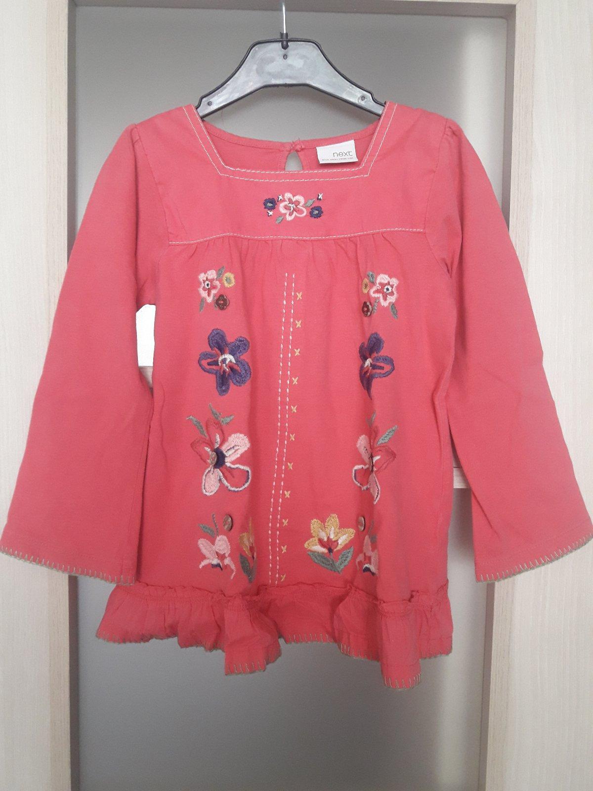 976f66d58 Next ružová vysivana tunika, veľkosť 110, next,110 - 5 € od predávajúcej  athene123 | Detský bazár | ModryKonik.sk