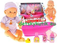 Báábika, bábätko tutu s vaničkou a príslušenstvom,