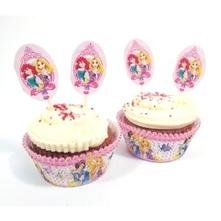 Disney princess cupcake/muffin 48dielny set,