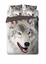 Obliečky vlk   140/200 cm,  2 x70/80 cm, 140,200