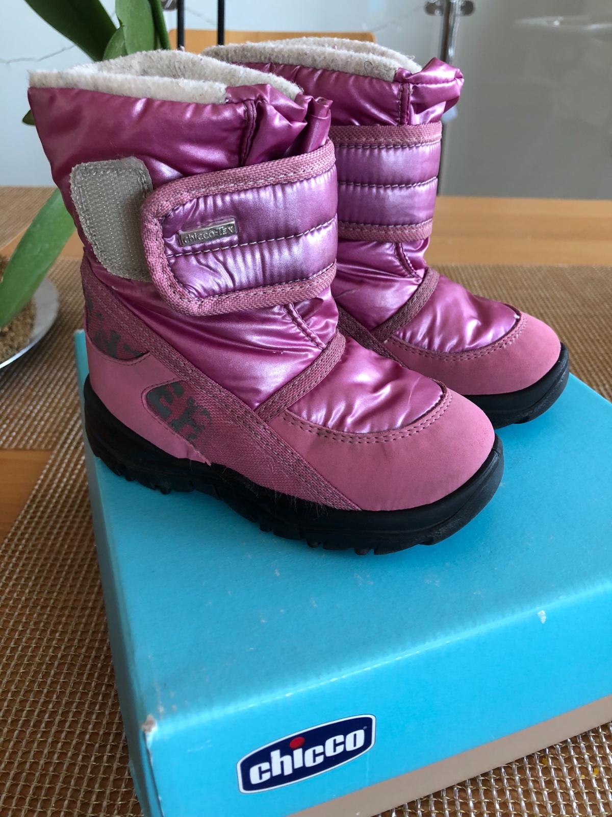 99cb3eea9abee Zimné topánky do snehu chicco, chicco,23 - 13 € od predávajúcej mramorka |  Detský bazár | ModryKonik.sk