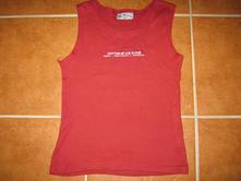 Bordové tričko, 164