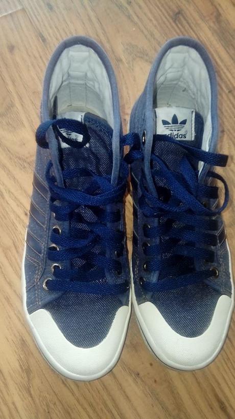 109575f0769 Riflové členkové tenisky adidas