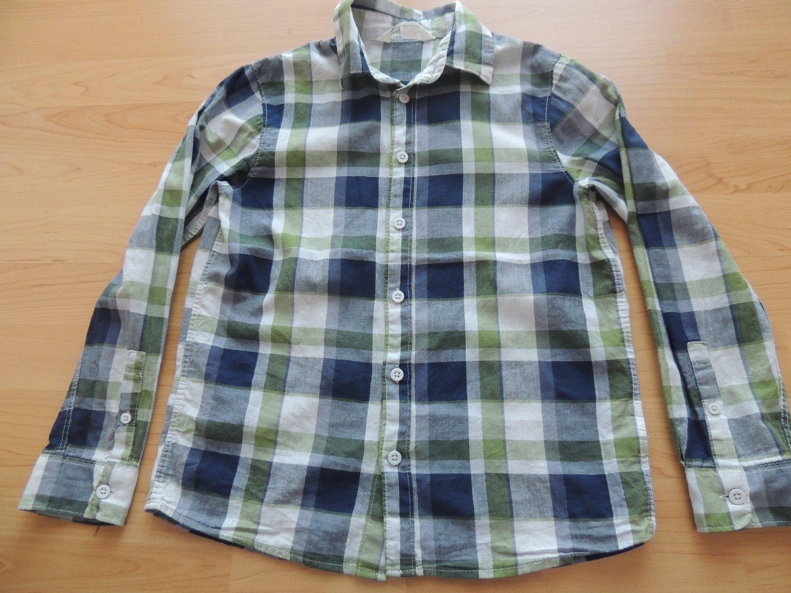 Kocková chlapčenská košeľa v.140 10eedc4bc8f