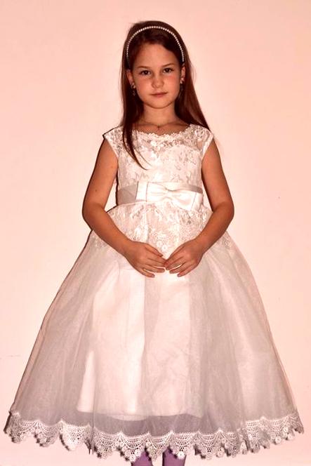 be551ca5f987 N.o.v.é šaty na 1.sv. prijimanie svadbu v.116-122