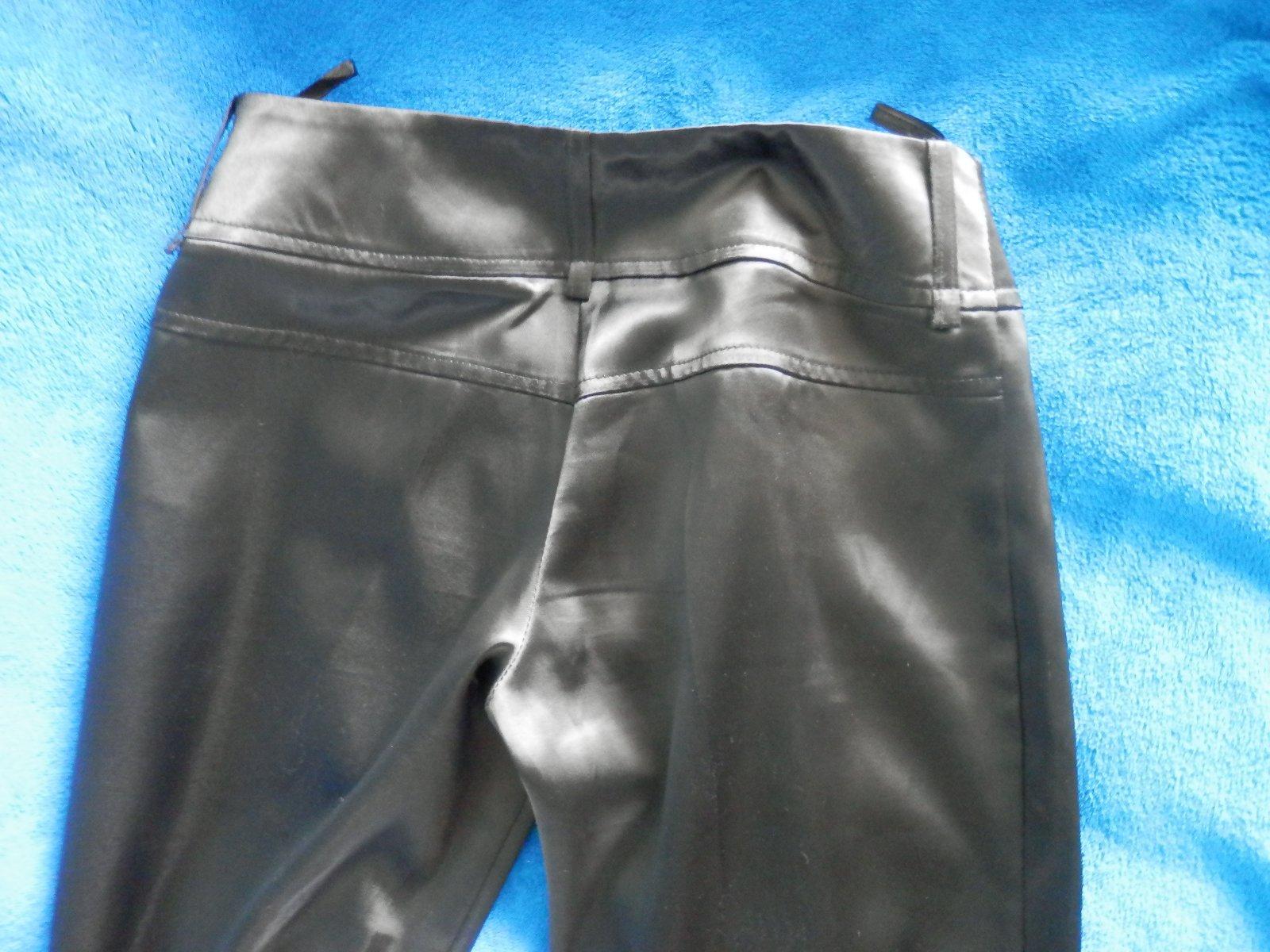 0ebeef907d1e Čierne saténové nohavice