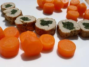 Jahnacia rolada s mrkvou a maslovou tekvicou