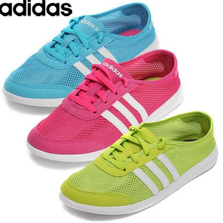 Dámske svetlomodré letné tenisky adidas cba3080c4c2