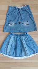 Riflové sukničky, h&m,122