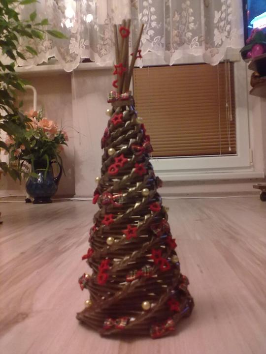 cc7456ba7 Vianočné stromčeky pletené z papiera - Album používateľky mata26010106 -  Foto 7