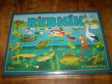 náučná hra - rybník 4 logické hry,