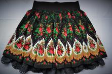 Folklorna suknička, 24 - xxxl