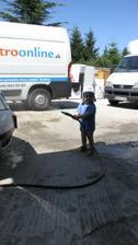 umyvam maminke auto