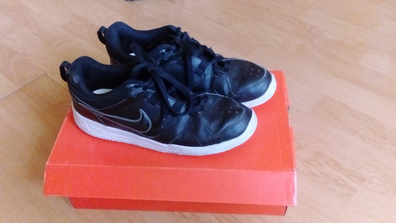 054e87e7fd4 Nike kožené tenisky