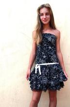 Spoločenské - slávnostné šaty lipsy, s