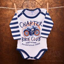 Body s dlhým rukávom - bike club, 80