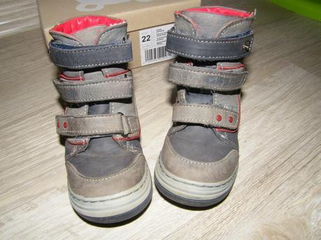 2bb5816dba Kožené zimné topánky - veľmi dobrý stav