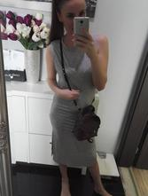 H&m maxi šaty, h&m,xs