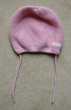 Jarná ružová háčkovaná čiapka, baby club,74