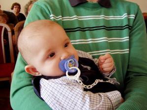 "19.4.2008 sedim ""krstnemu otcovi"" na kolenach"