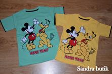 Detské bavlnené tričko mickey mouse, 110 / 116 / 122 / 128