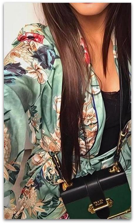 7662cd947f00 Kvetované kimono - veľkosť m l