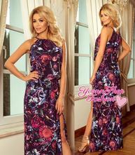 Úžasné dámske maxi šaty numoco, l / m / s / xl
