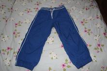 Modré podšité nohavice h&m 110, h&m,110