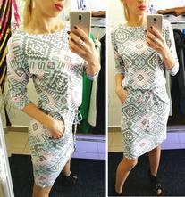 Štýlové dámske šaty neon numoco, l / m / s / xl