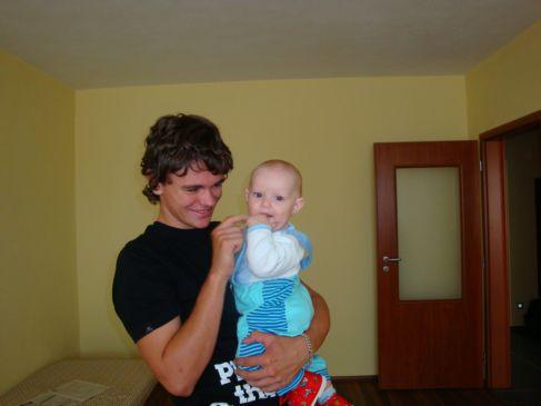 Lenka a brat Mirko