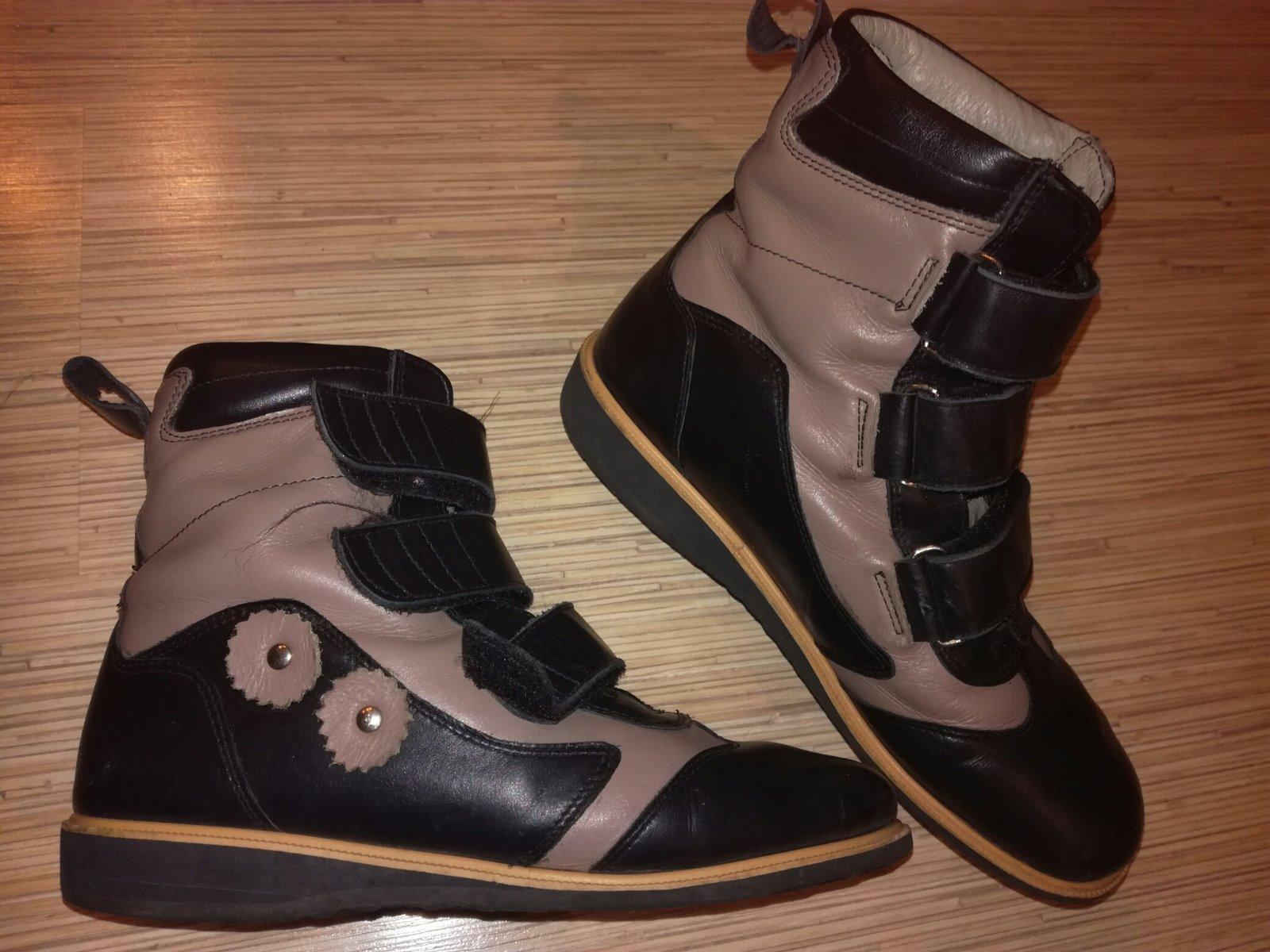 782ebb7fc360c Kožené prechodné ortopedické topánky,veľ.35/22,5cm, protetika,35 - 14,50 €  od predávajúcej happygirl   Detský bazár   ModryKonik.sk