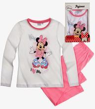 Disney minnie pyžamo darčekové balenie biela, disney,92 / 104 / 116 / 128