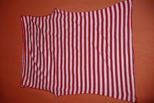 Červeno - biele tričko, s