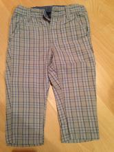 Kárované nohavice, h&m,74
