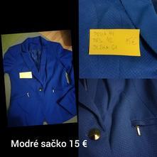 Modré sako, f&f,40