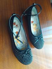 Topánky, balerínky čierne, 36