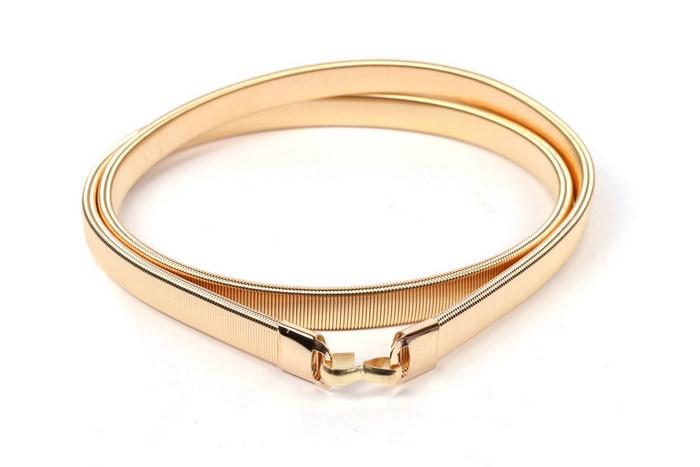 e0ab35a35 Dámsky elastický opasok zlatý, - 5,99 € od predávajúcej monica677 | Detský  bazár | ModryKonik.sk