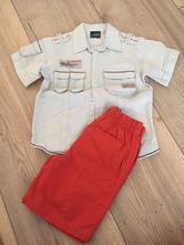 Košeľa + šortky, next,104