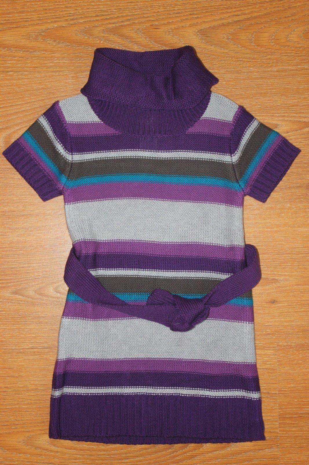8684297bf5ab Farebné štrikované šaty (1x oblečené)