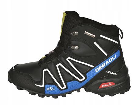 8de1d75aa Pánske topánky mas zimné, športové black/blue, 41 - 46 - 39 € od ...