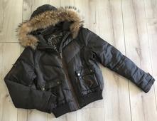 Kocca zimná bunda s pravou kozusinou 8a6f7bc55e1