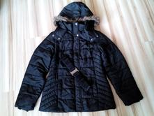 Zimná bunda s opaskom e82b2d2e5b5
