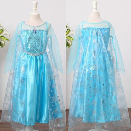 22bfa00fcf12 Frozen šaty   kostým elsa - ihneď k odberu