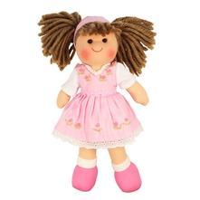 Textilná bábika rose 25 cm 12m+,