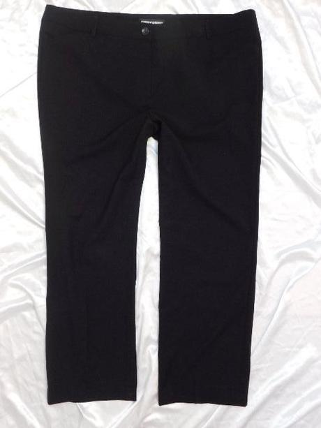 6efd7dce7b Damske kvalitné čierne elegantné nohavice